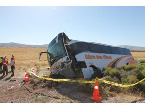 Aksaray'daki otobüs kazasında yaralı sayısı 44'e yükseldi