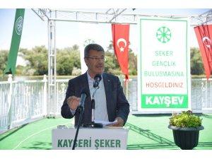 Kayseri Şeker, 'KAYSEV' Vakfından 1243 üniversite öğrencisine burs