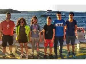 Bisiklette Türkiye birinciliği Biga'nın