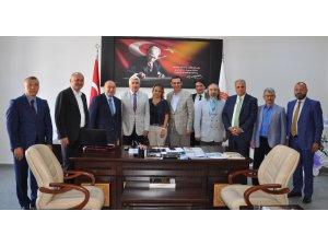 KUTSO heyetinden Başkan Musa Yılmaz'a ziyaret