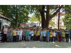 Yaz Kur'an Kursu öğrencilerinin tarih gezisi