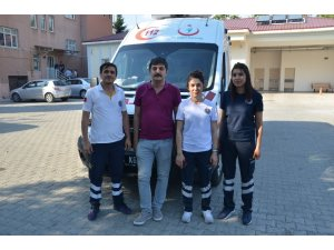 Ambulansların trafikle imtihanı