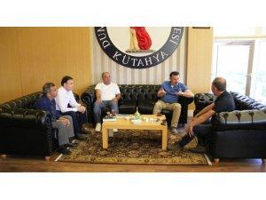 Eskişehir Gelişim Okulları'ndan Rektör Gören'e ziyaret