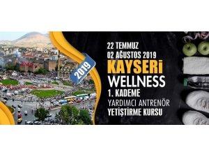 Kayseri'de Wellness 1. Kademe Yardımcı Antrenör Kursu açılacak