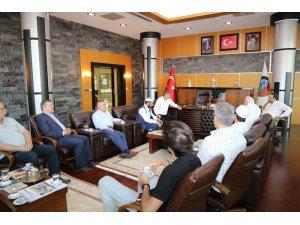 Abdülhamit Han'ın torunundan Başkan Alemdar'a ziyaret