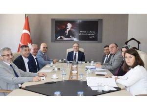 İl Encümen Toplantısı Vali Tutulmaz başkanlığında yapıldı