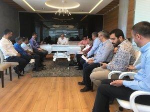Başkan Gülsoy, Komite Üyelerinin Sorunlarına Kulak Verdi