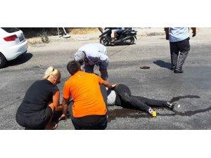 Bodrum'da trafik kazası; 1 yaralı