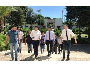 Rektör Prof. Dr. Osman Selçuk Aldemir, ADÜ  Sümer Kampüsünü ziyaret etti