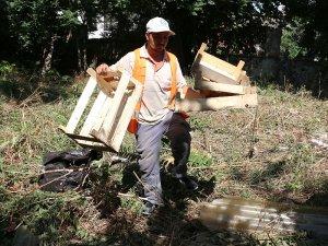 Büyükşehir Kaleiçi'nde temizlik seferberliği başlattı