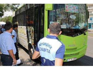 Diyarbakır'da toplu taşıma araçlarında klima ve genel temizlik denetimi