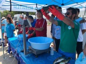 Tekirdağ'da Zıpkınla Balık Avı Şampiyonası heyecanı