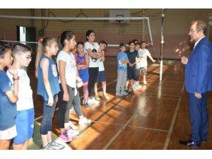 Denizli'de yetenekli 120 sporcu belirlendi