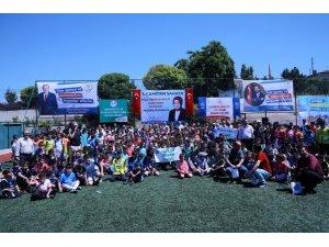 Akyurt'ta Camiden Sahaya Futbol Turnuvası başladı