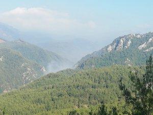 Osmaniye'de Amanos Dağları'nda orman yangını