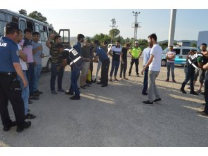Emniyetten drone destekli kaçak göçmen operasyonu