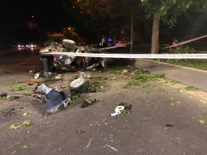 Başkent'te otomobil köprüden uçtu: 1 ölü, 2 yaralı