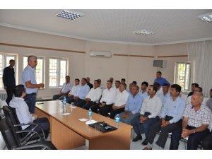 Sincik'te Badem Hibe Projeleri anlatıldı