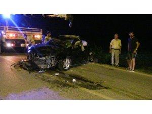Samandağ'da trafik kazası: 2 yaralı