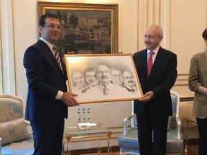 Kılıçdaroğlu, İmamoğlu'nu ziyaret etti