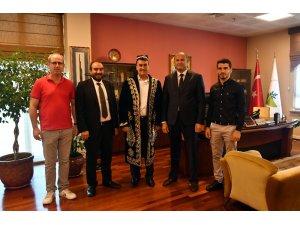 Özbek iş dünyasından Dündar'a ziyaret
