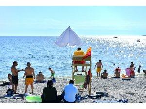 Beylikdüzü Belediyesi temiz ve güvenli bir sahil için çalışıyor