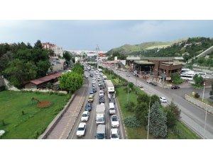 Karabük'te trafiğe kayıtlı araç 66 bin 680'e geriledi