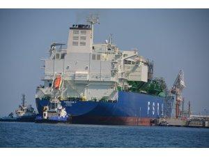 Yeni yüzer doğal gaz terminali İzmir'de demirledi