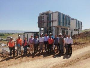 Yeni Vezirköprü Devlet Hastanesi inşaatı yıl sonuna tamamlanıyor