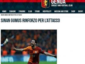 Genoa, Sinan Gümüş'ü transfer etti