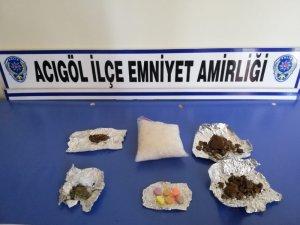 Acıgöl'de uyuşturucu taciri 1 kişi tutuklandı
