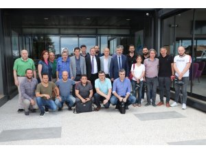 TFF'nin Trabzonlu yöneticileri basın mensuplarıyla bir araya geldi