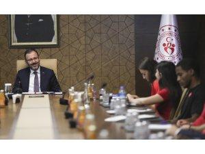 """Bakan Kasapoğlu: """"Amacımız Türkiye'nin bir spor ülkesi olması"""""""