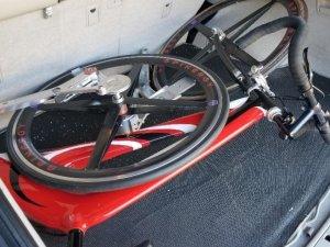 ABD'de zincirsiz bisiklet yapıldı