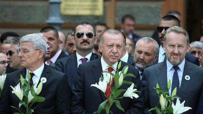 Erdoğan'dan Srebrenitsa soykırımı paylaşımı!