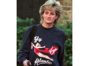 Prenses Diana'nın sweatshirt'ü 47 bin Euro'ya satıldı