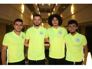 Çaykur Rizespor yeni transferler kampa katıldı