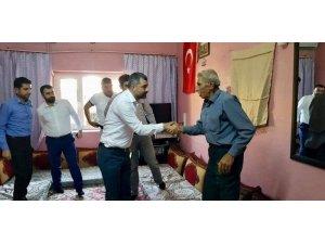 AK Parti'li heyetten 15 Temmuz gazilerine ziyaret