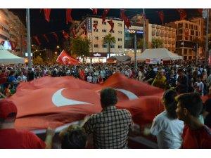 Denizli'de 15 Temmuz Demokrasi ve Milli Birlik Günü etkinlikleri