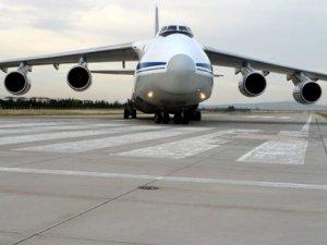 S-400'lerin teslimatı... 14. uçak Mürted'e indi