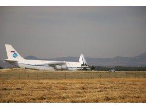 S-400 sevkiyatında on ikinci uçak Mürted Hava Üssü'ne indi