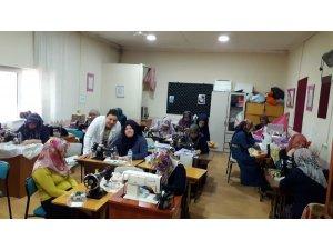 Hisarcık'ta Zikzak Makine Nakışları Kursu