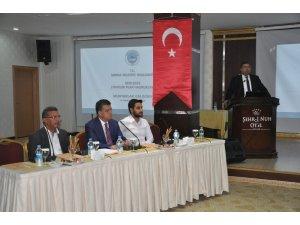 Şırnak Belediyesi'nin 2020-2024 dönemi stratejik plan çalıştayı başladı