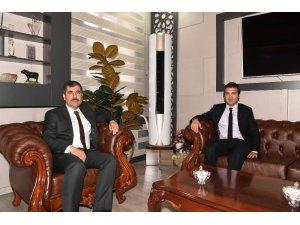 Başkan Asya, Başsavcı Karahan'ı ağırladı