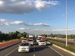 Horasanda 15 Temmuz konvoyu