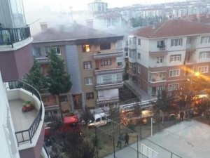 Baba, yangında küçük kızını kurtarırken dumanlara yenik düştü