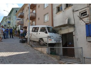 Sinop'ta korkutan kaza: 1 yaralı