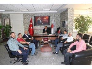 Cizre TSO Başkanı Sefinç'ten Habur mülki idare amirlerine ziyaret