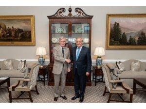 ABD Ulusal Güvenlik Danışmanı Bolton, Özbekistan Dışişleri Bakanı Kamilov ile görüştü