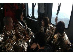 Düzce'de mahsur kalan 174 vatandaş tahliye edildi